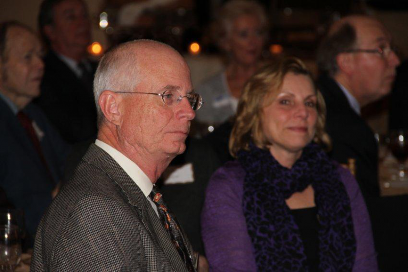 Rotarian Cal Johnson and spouse Patricia