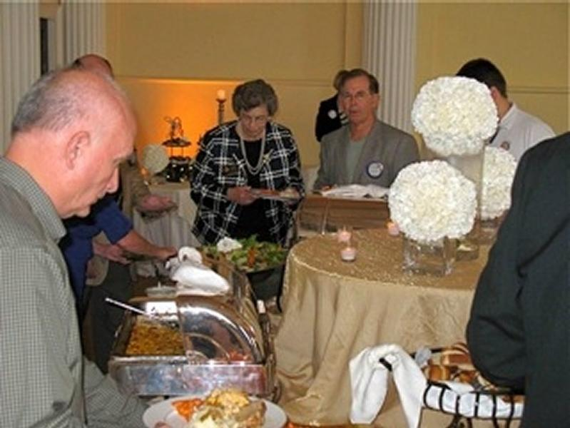 Governor's Buffet Line